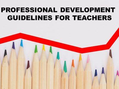 Professional Development Guidelines for Teachers