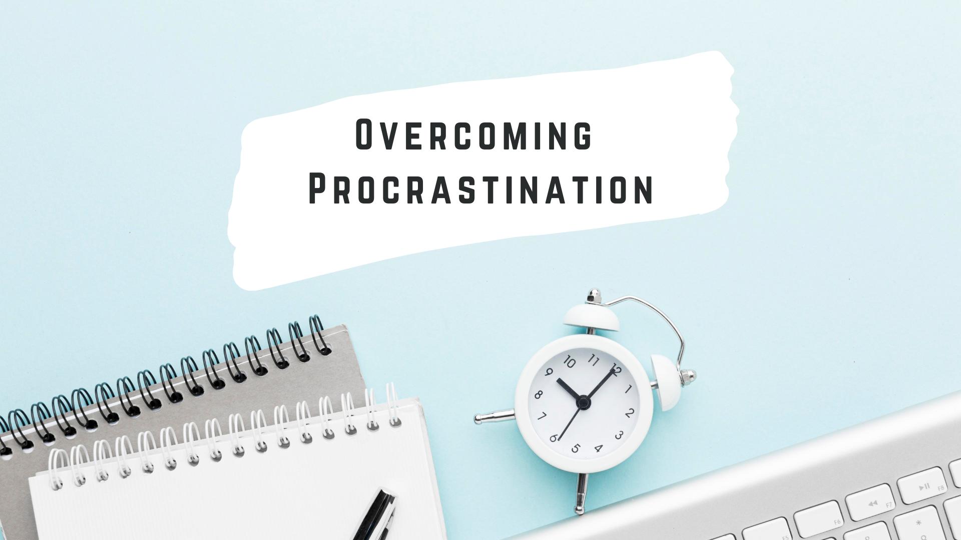 Overcoming  Procrastination course image