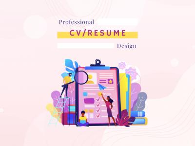 Professional CV/Resume Design: Make it Visual
